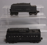 Lionel 243W Operating Whistling Tender & 2466W Operating Whistling Tender