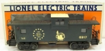 Lionel 6-6917 Jersey Central Extended Vision Caboose EX/Box