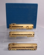 Alco Models X-116S HO Scale BRASS MP-54 3-Car Passenger Set LN/Box