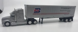 K-line Intermodal Tractor Trailer Burlington North America Silver Edition LN/Box