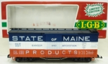 LGB 4067-K01 State of Maine Boxcar w/Plastic Wheels LN/Box