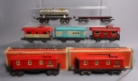 Lionel, Marx & Other O Scale Assorted Prewar Freight Cars; 1682, 2686, 20102, 50