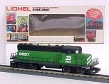 Lionel 6-8957 Burlington Northern GP-20 Diesel Locomotive LN/Box