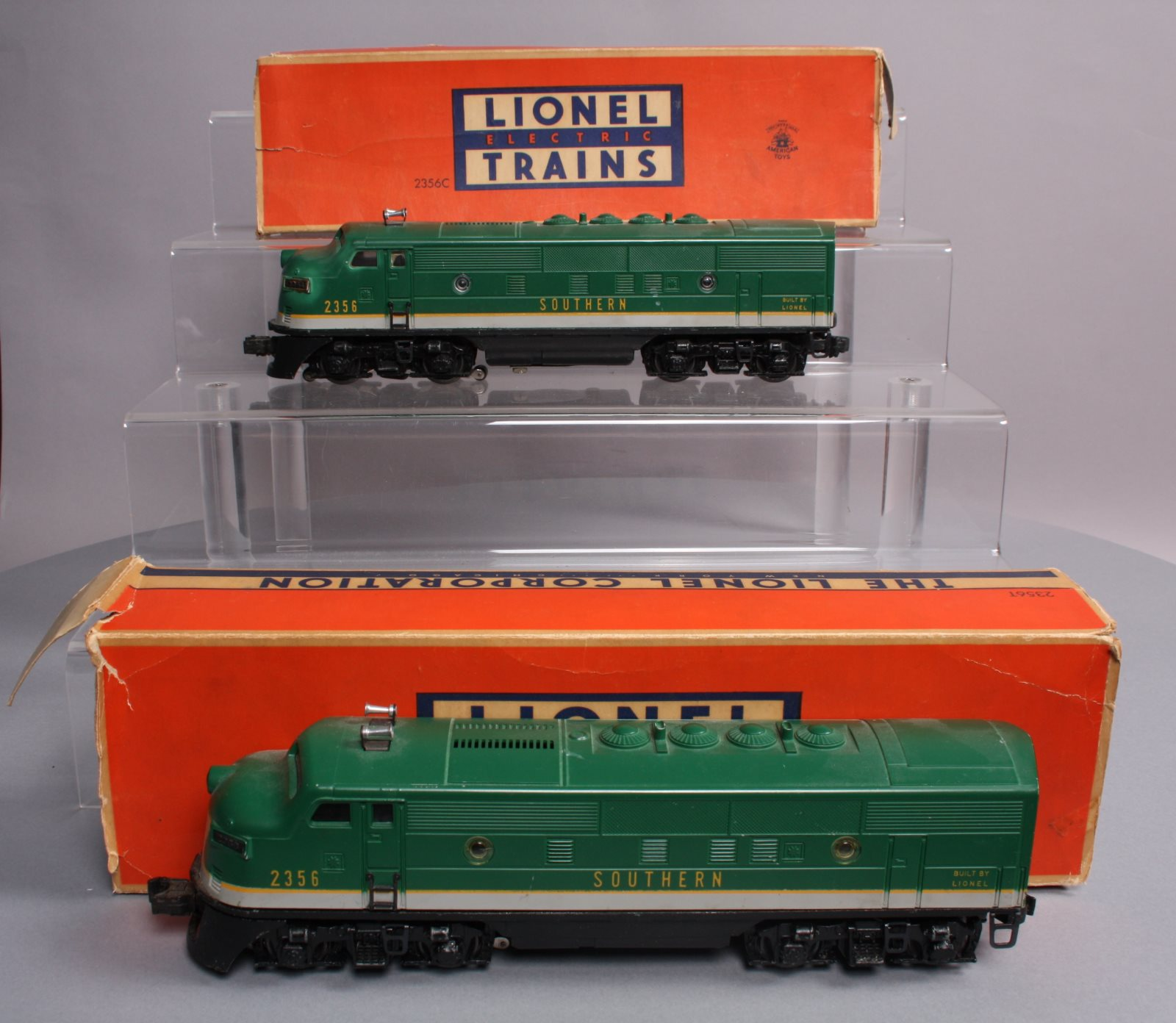 Buy Lionel 2356 Southern F-3 AA Diesel Locomotives/Box | Trainz Auctions
