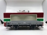 LGB 4110 4-Wheel Gray Flat Car- Plastic Wheels NIB