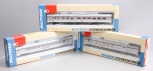 Walthers HO Scale Pennsylvania Railroad Passenger Cars: 932-6466, 932-6326, 932-