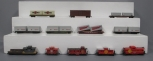 mantua, Tyco, AHM, and Other HO Santa Fe Freight Cars: 932, 999851, 90806, 93302