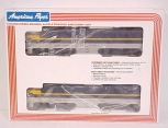 American Flyer 6-48102 S Scale Chesapeake & Ohio PA-1 Diesel Locomotives LN/Box