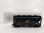 MicroTrains 09254100 N Chicago North Western 2-Bay Covered Hopper #96700 LN/Box