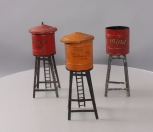 American Flyer & Ives O Gauge Prewar Water Towers [3]