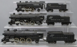 American Flyer S Gauge Postwar Steam Locomotives & Tenders: 283, 21085, 303 [3]