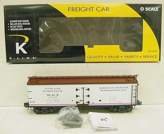 K-Line K742-80332 Merchants Despatch Reefer Car NIB  K-Line K742-80332