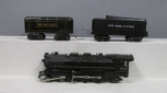 Marx 333 4-6-2 Steam Locomotive & (2) Tenders