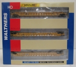 Walthers 932-3941 HO Scale NSC 3-Unit 53 Well Car [3-Pack] LN/Box