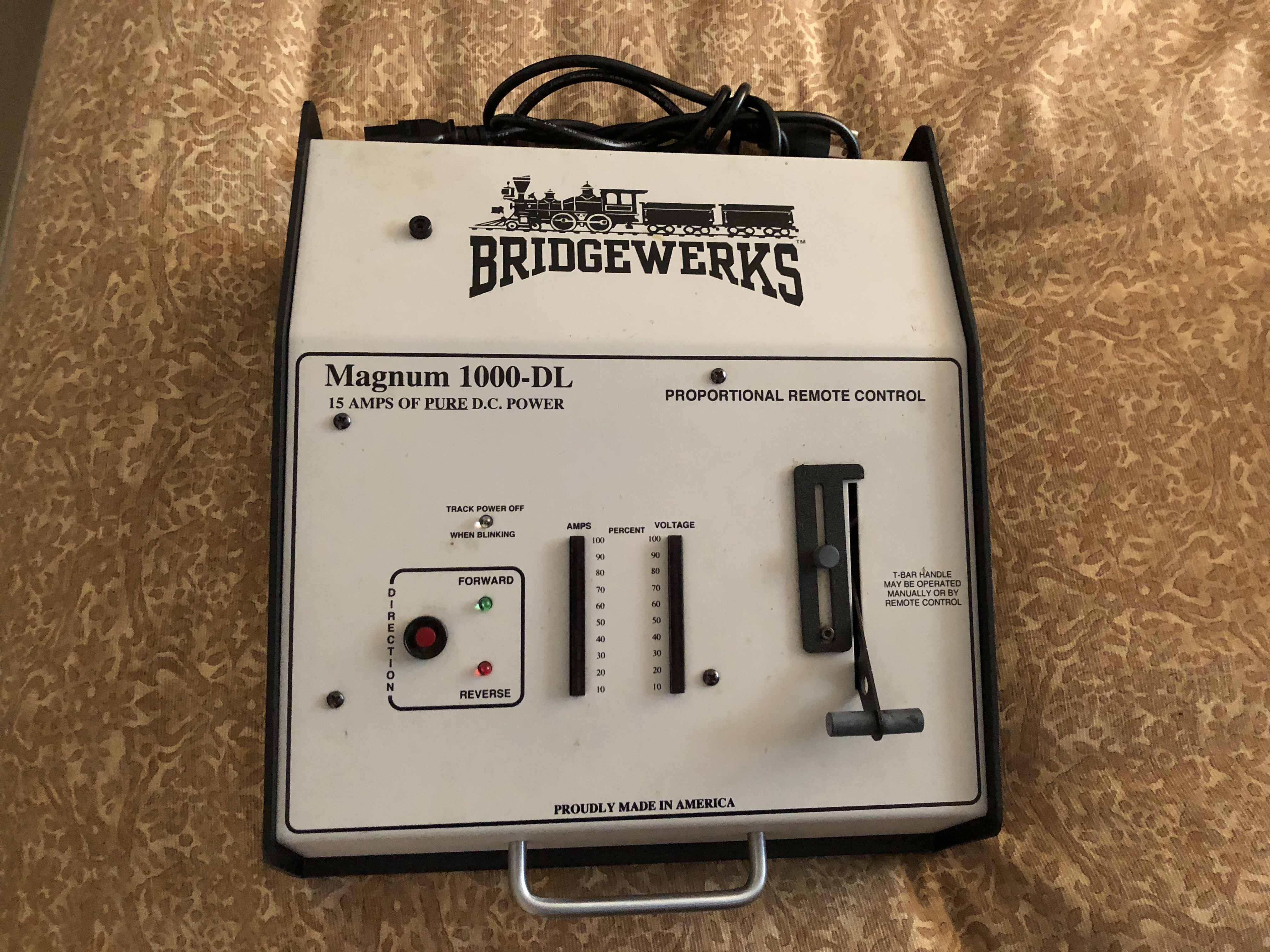 Buy Bridgewerks Magnum 1000-DL Manual Controller | Trainz