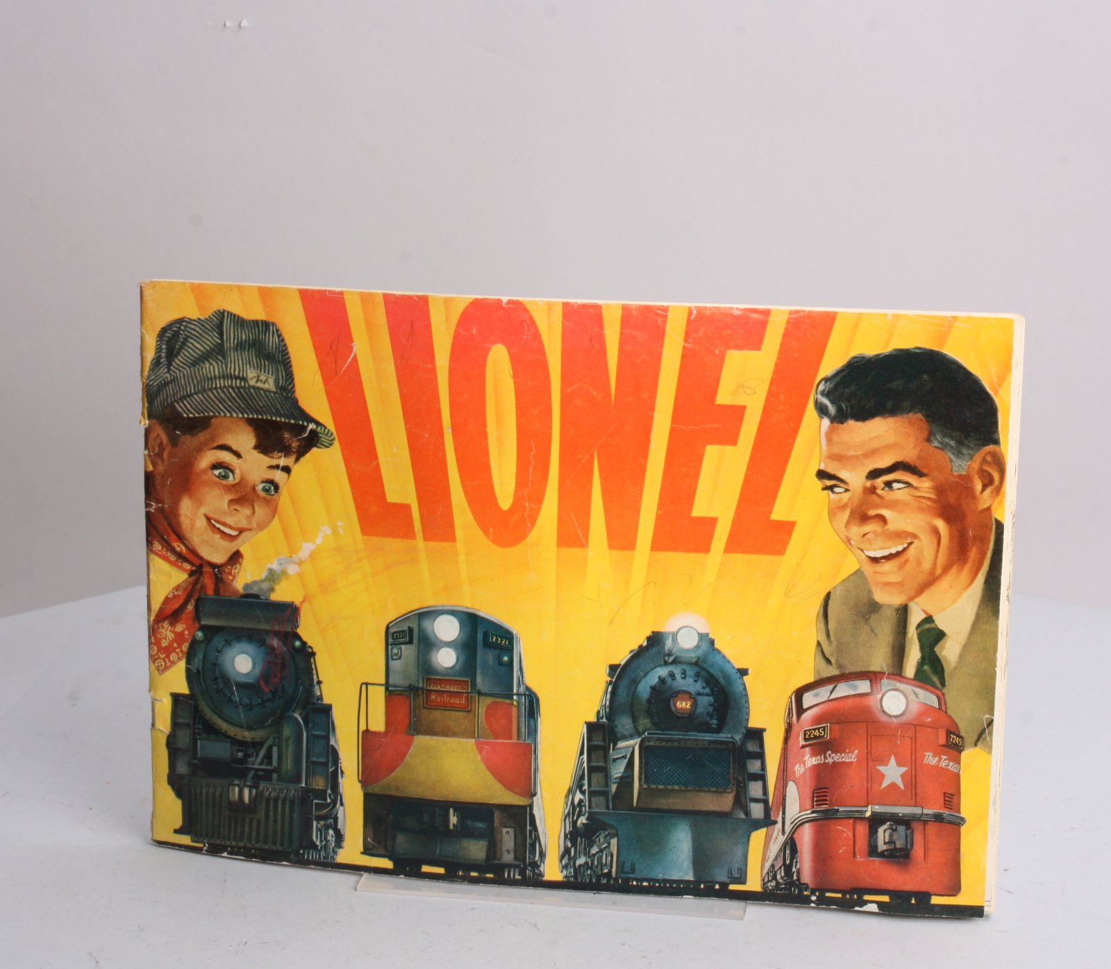 Buy Lionel 1954 Original Consumer Full Color Catalog LN