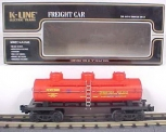 K-Line K5426 Pennsylvania Triple Dome Tank Car LN/Box