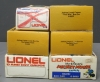 Lionel O Scale Assorted Freight Cars: 6-9432, 6-9429, 6-9433, 6-9669 [6]  Lionel