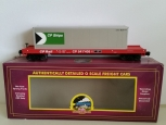 MTH 20-98986 O CP Rail Flatcar w/40' Container NEW