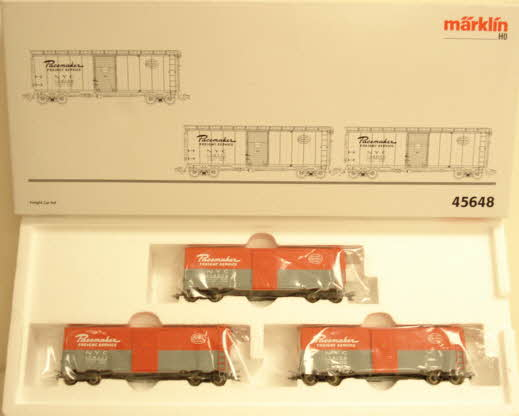 Marklin 45648 New York Central Pacemaker Boxcar Set LN/Box  Marklin 45648