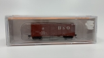 Fox Valley Models 90320 N Scale B&O Cap Dome Bill Wagontop/Young Dr Boxcar NIB