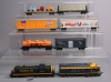Tyco, ATT, AHM HO Assorted Freight Cars & Diesels [8]/Box  Tyco