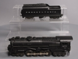 Lionel 671 6-8-6 Die-Cast Steam Turbine Locomotive with 2046W (Repro Shell) Tend
