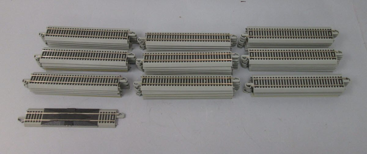 Buy Bachmann EZ Track HO Scale Straight Track Sections (50) | Trainz