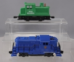 Kusan O Gauge PRR Beep Diesel & Lionel 6-8926 Reading Diesel Switcher - 3 Rail