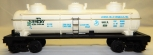 Lionel 6-9250 Waterpoxy Resin Triple Dome tank car General Mills GMCX Clean 1970