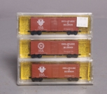 Deluxe Innovations 141001 N Scale Delaware & Hudson 40' AAR Boxcar (Pack of 3)