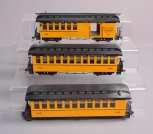 Weathered Bachmann Spectrum On30 Denver & Rio Grande Western Passenger Cars [3]
