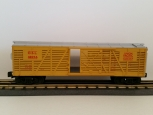 MTH 30-7107 Union Pacific Stock Car - Yellow/Silver