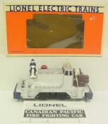 Lionel 6-18411 Canadian Pacific Fire Fighter Car EX/Box
