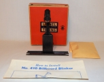 Lionel 410 Lighted Billboard BLINKER Accessory Postwar BOXED w/ instructions '56