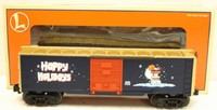 Lionel 6-36213 Vapor Records Christmas Box Car