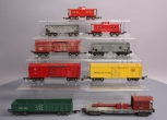 American Flyer S Freight Cars: 638, 631, 945, 633, 639, 629, 630, 632, 924 (9)