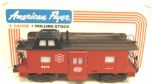 American Flyer 4-9404 S Scale New York Central Bay Window Caboose LN/Box