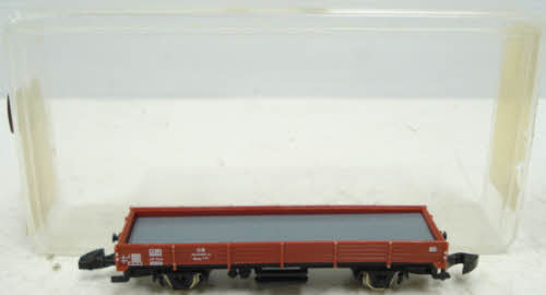 Marklin 8610 Z Scale Mini Club DB Flatcar NIB  Marklin 8610