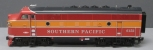 USA Trains 22370 G Southern Pacific Daylight F-3A Powered Diesel Locomotive