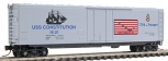 MicroTrains 038 00 412 N Scale Navy Series USS Constitution 50' Standard Box Car