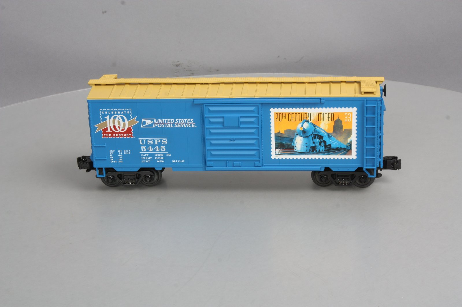 Buy MTH 20-93040 UP Post Office Boxcar #5445 LN/Box | Trainz Auctions