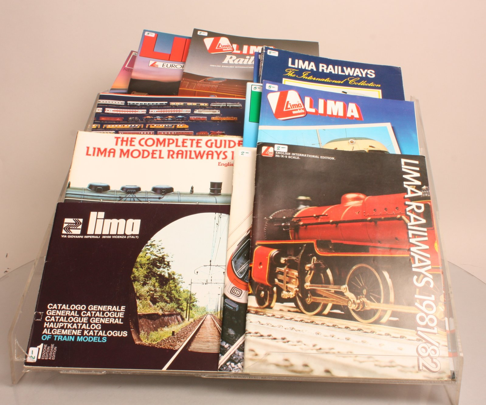 Buy Lima HO Scale Consumer Catalogs (15) | Trainz Auctions