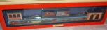 Schylling Lionel Train Station Tinplate wind up Toy Trains Scenic Santa Fe F3