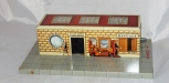 CLEAN MARX 2890 tinplate Whistling Union Station O gauge battery operated Push