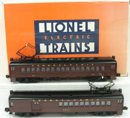 Lionel 6-18306 Pennsylvania Multiple-Unit Commuter Cars #438/4574 LN/Box 023922183064 Lionel 6-18306