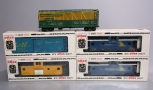 Atlas O Scale C&NW, L&N, C&O and Union Pacific Freight Cars [5] (2-Rail)