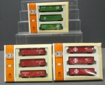 Con-Cor N Scale Freight Car Sets: 0001-008903, 0001-008806 & 0001-008974 [3] LN