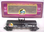 MTH 20-96039 SF TTOS 2001 Single Dome Tank Car # 106 LN/Box