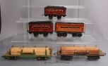 American Flyer O Scale Assorted Passenger Cars & Freight Cars [5]